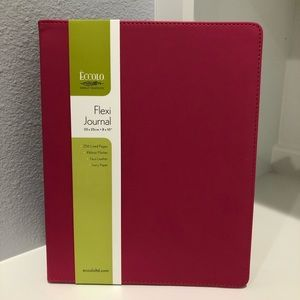 Other - NEW!! Pink Faux Leather Journal Writing Book